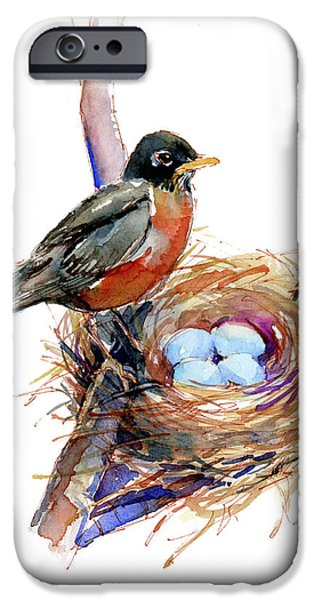 Robin With Nest IPhone 6s Case