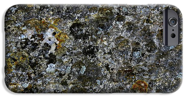 Rock Lichen Surface IPhone 6s Case by Nareeta Martin