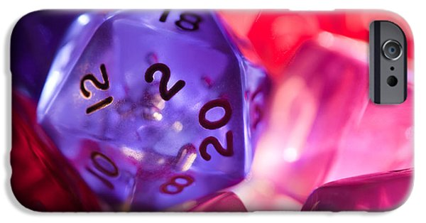 Role-playing D20 Dice IPhone 6s Case by Marc Garrido
