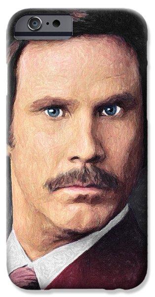 Elf iPhone 6s Case - Ron Burgundy by Zapista
