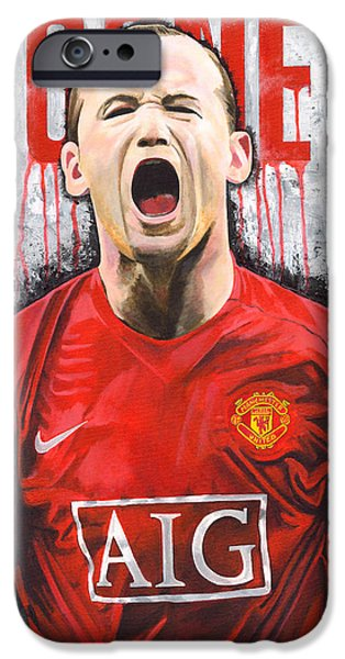 Rooney IPhone 6s Case by Jeff Gomez