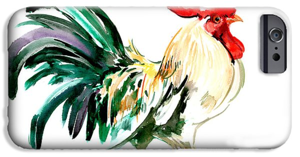 Rooster IPhone 6s Case by Suren Nersisyan