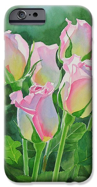 Rose iPhone 6s Case - Rose Array by Sharon Freeman