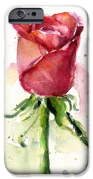 Rose Watercolor IPhone 6s Case