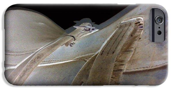 iPhone 6s Case - Rustic Horse Saddle by Orphelia Aristal