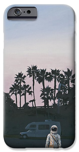 IPhone 6s Case featuring the painting Rv Dusk by Scott Listfield