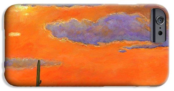 Desert iPhone 6s Case - Saguaro Sunset by Johnathan Harris