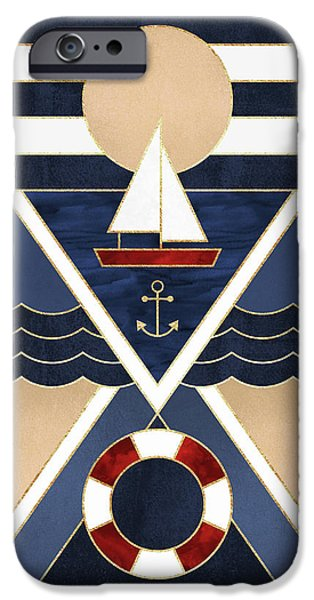 Sailboat IPhone Case by Elisabeth Fredriksson