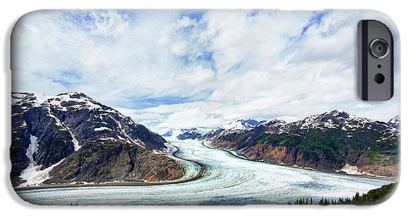 Salmon Glacier IPhone 6s Case by Heidi Brand