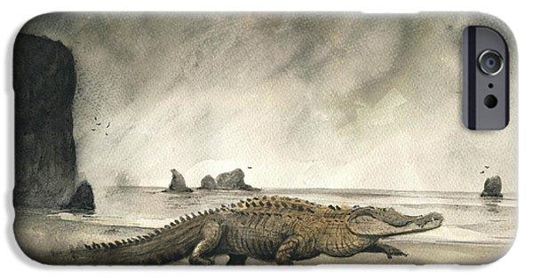 Saltwater Crocodile IPhone 6s Case