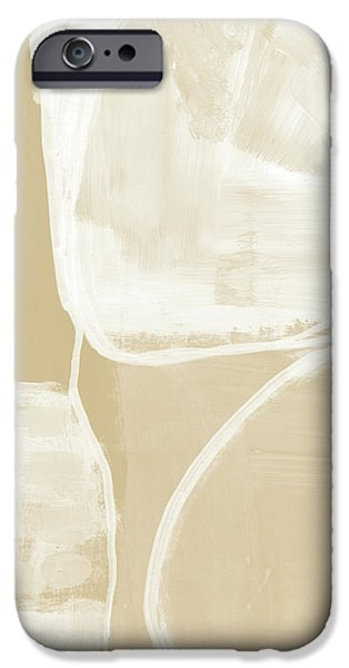 Camel iPhone 6s Case - Sand And Stone 5- Contemporary Abstract Art By Linda Woods by Linda Woods
