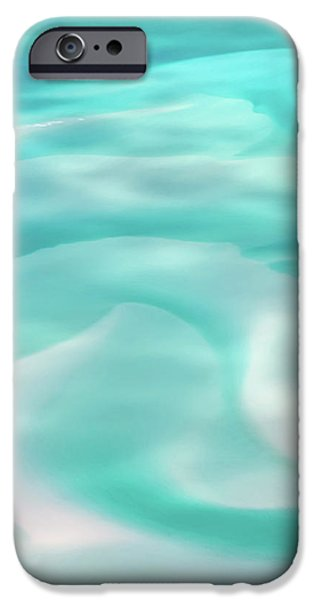 Teal iPhone 6s Case - Sand Swirls by Az Jackson
