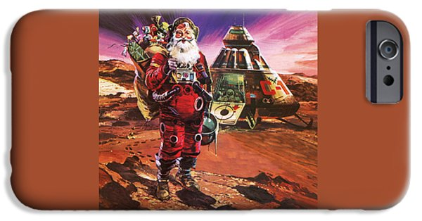 Santa Claus On Mars IPhone 6s Case by English School