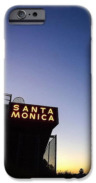 Santa Monica iPhone 6s Case - Santa Monica Sunrise by Art Block Collections