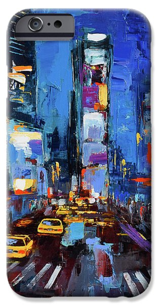 Saturday Night In Times Square IPhone 6s Case by Elise Palmigiani