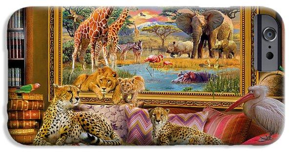 Cheetah iPhone 6s Case - Savannah Coming To Life by Jan Patrik Krasny