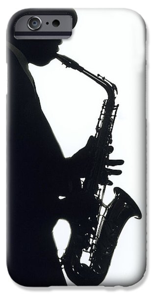 Saxophone iPhone 6s Case - Sax 2 by Tony Cordoza