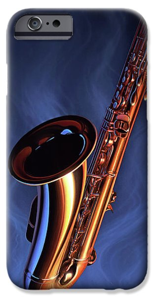 Saxophone iPhone 6s Case - Sax Appeal by Jerry LoFaro
