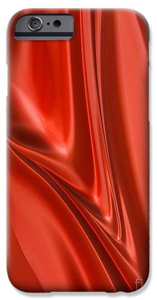Scarlet iPhone 6s Case - Scarlet Flow by John Edwards