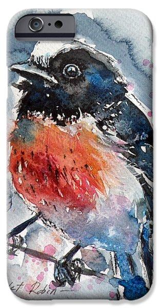 Scarlet iPhone 6s Case - Scarlet Robin by Kovacs Anna Brigitta