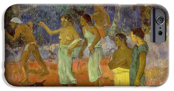 Scene From Tahitian Life IPhone 6s Case by Paul Gauguin