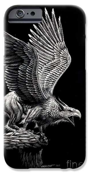 Screaming Griffon IPhone 6s Case by Stanley Morrison