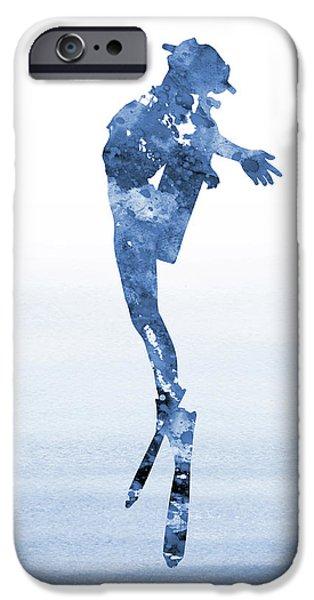 Scuba Diving iPhone 6s Case - Scuba Diving-blue 3 by Erzebet S