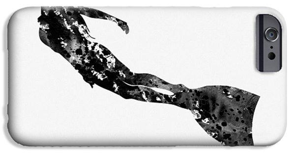 Scuba Diving iPhone 6s Case - Scuba Diving Girl by Erzebet S