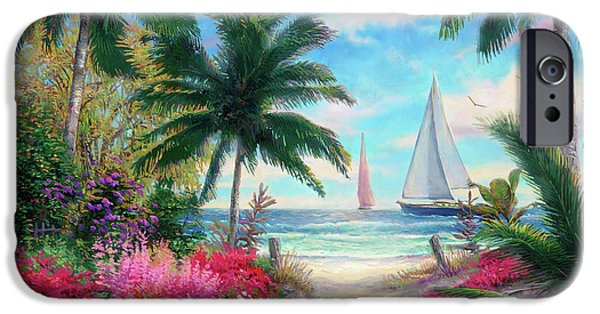 Jazz iPhone 6s Case - Sea Breeze Trail by Chuck Pinson