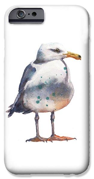 Seagull Print IPhone 6s Case