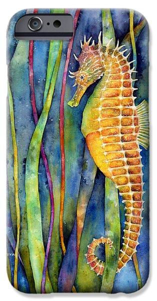 Aquarium iPhone 6s Case - Seahorse by Hailey E Herrera