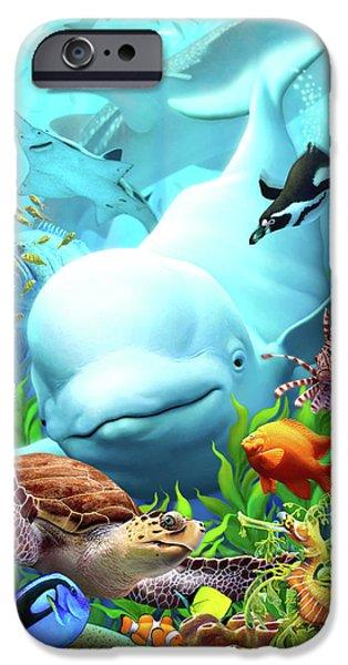 Dolphin iPhone 6s Case - Seavilians 2 by Jerry LoFaro