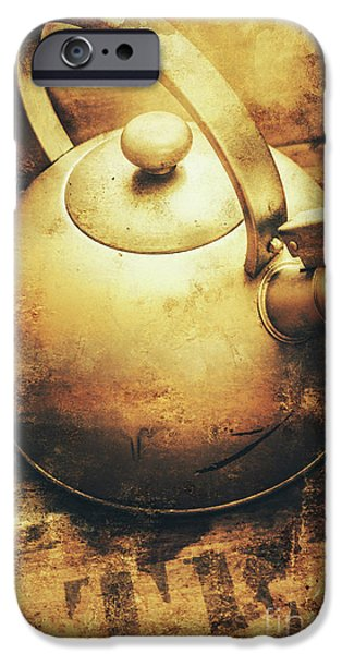 Sepia Toned Old Vintage Domed Kettle IPhone 6s Case