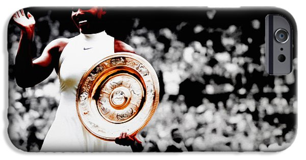 Venus Williams iPhone 6s Case - Serena 2016 Wimbledon Victory by Brian Reaves