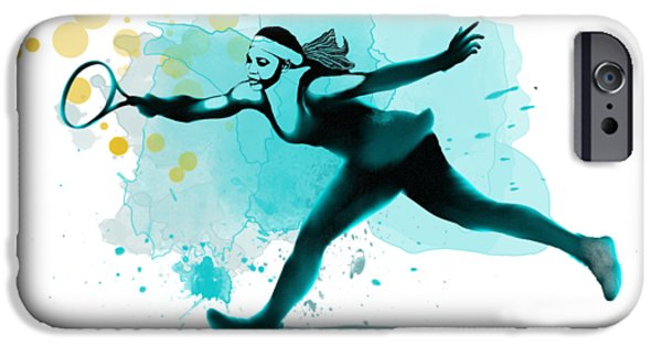 Serena Williams iPhone 6s Case - Serena by Marlene Watson