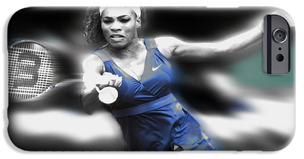 Venus Williams iPhone 6s Case - Serena On The Move by Brian Reaves