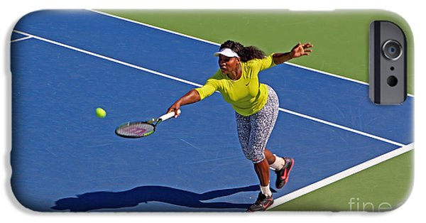Serena Williams iPhone 6s Case - Serena Williams 1 by Nishanth Gopinathan