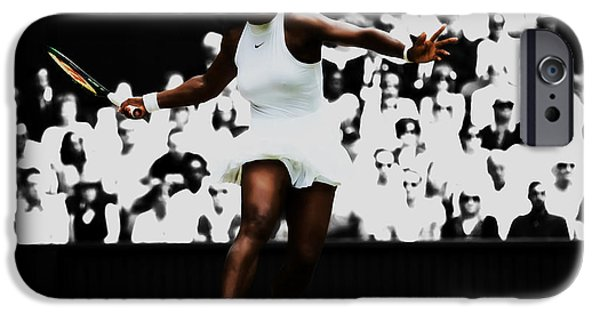 Venus Williams iPhone 6s Case - Serena Williams 14p by Brian Reaves