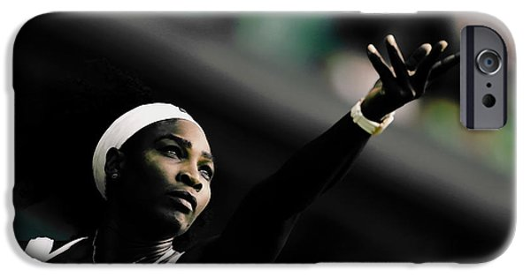 Venus Williams iPhone 6s Case - Serena Williams Commitment And Passion by Brian Reaves