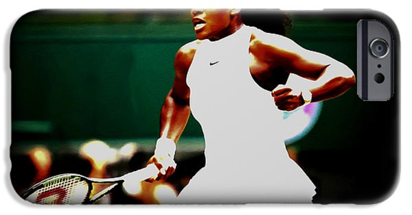 Venus Williams iPhone 6s Case - Serena Williams Making History by Brian Reaves
