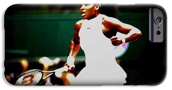 Serena Williams iPhone 6s Case - Serena Williams Making History by Brian Reaves