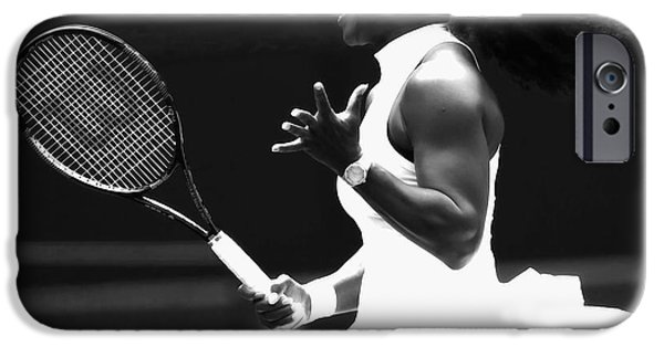 Venus Williams iPhone 6s Case - Serena Williams Making Magic Happen by Brian Reaves