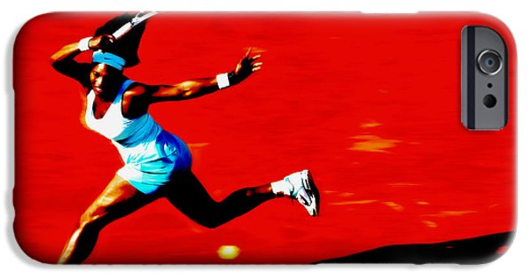 Venus Williams iPhone 6s Case - Serena Williams Never Give Up by Brian Reaves
