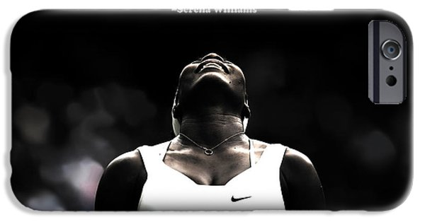 Venus Williams iPhone 6s Case - Serena Williams Quote 2a by Brian Reaves