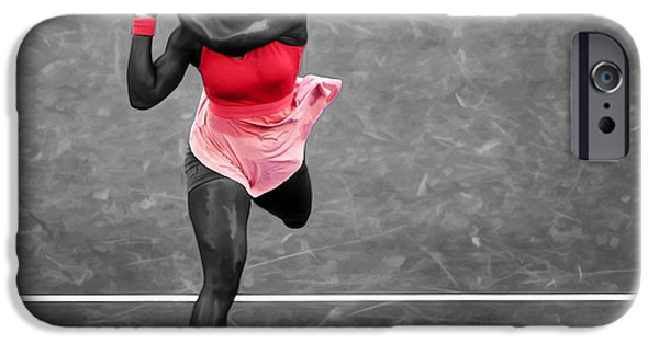 Serena Williams Strong Return IPhone 6s Case by Brian Reaves