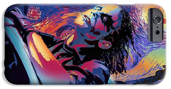 Heath Ledger iPhone 6s Case - Serene Starry Night by Surj LA