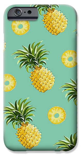 Set Of Pineapples IPhone 6s Case by Vitor Costa