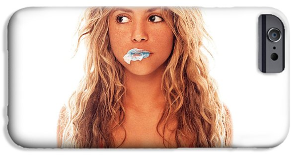 Shakira iPhone 6s Case - Shakira by Alice Kent