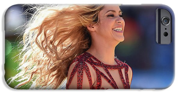 Shakira iPhone 6s Case - Shakira Brazil by Mery Moon