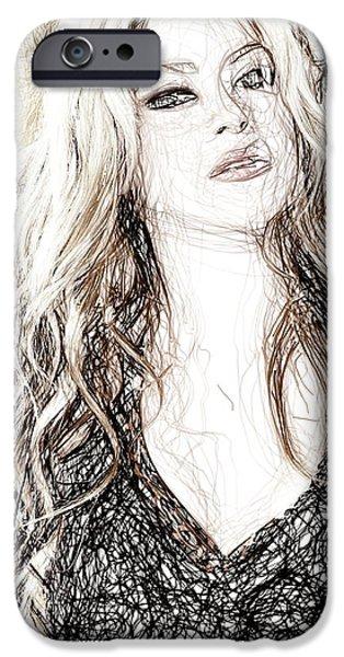 Shakira - Pencil Art IPhone 6s Case